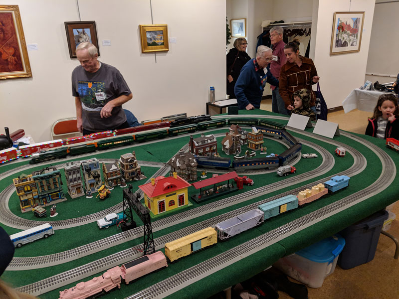 Will Huffman Toy Train Expo