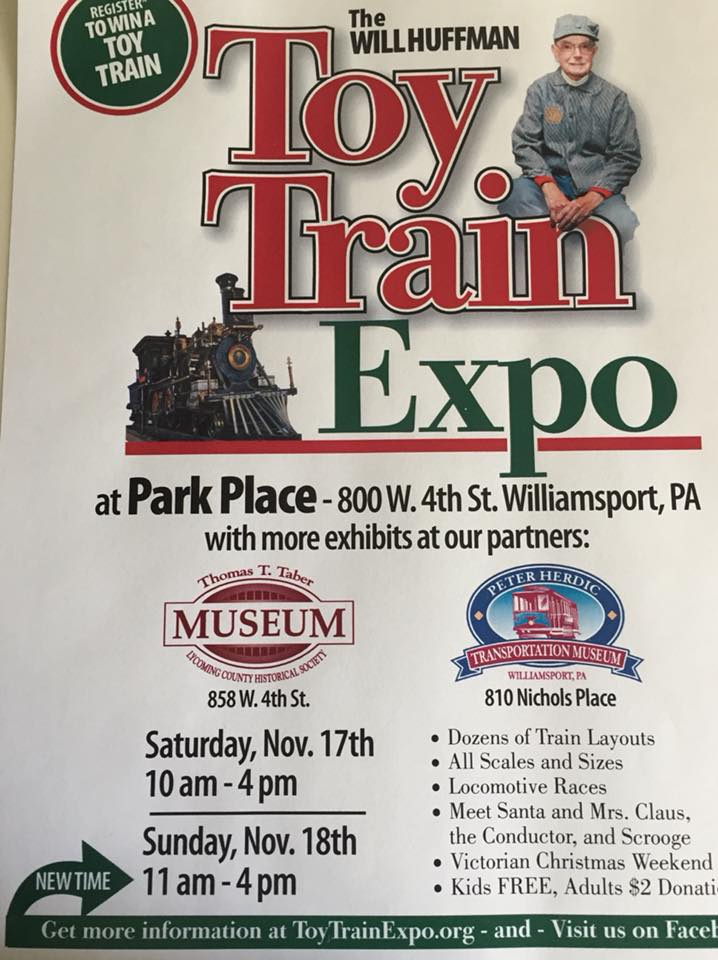 The 24th annual Toy Train Expo.