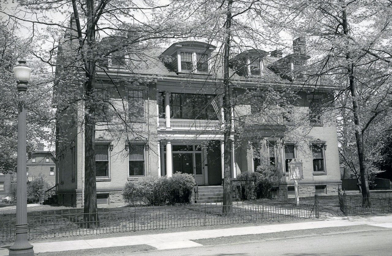 Original Society building, opened 1941.