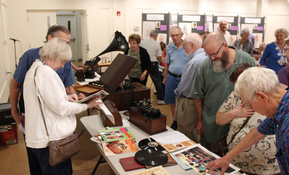 Edison Phonographs and Recordings Displayed and Played at Taber Museum Event