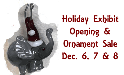 Holiday Exhibit Opening & Ornament Sale