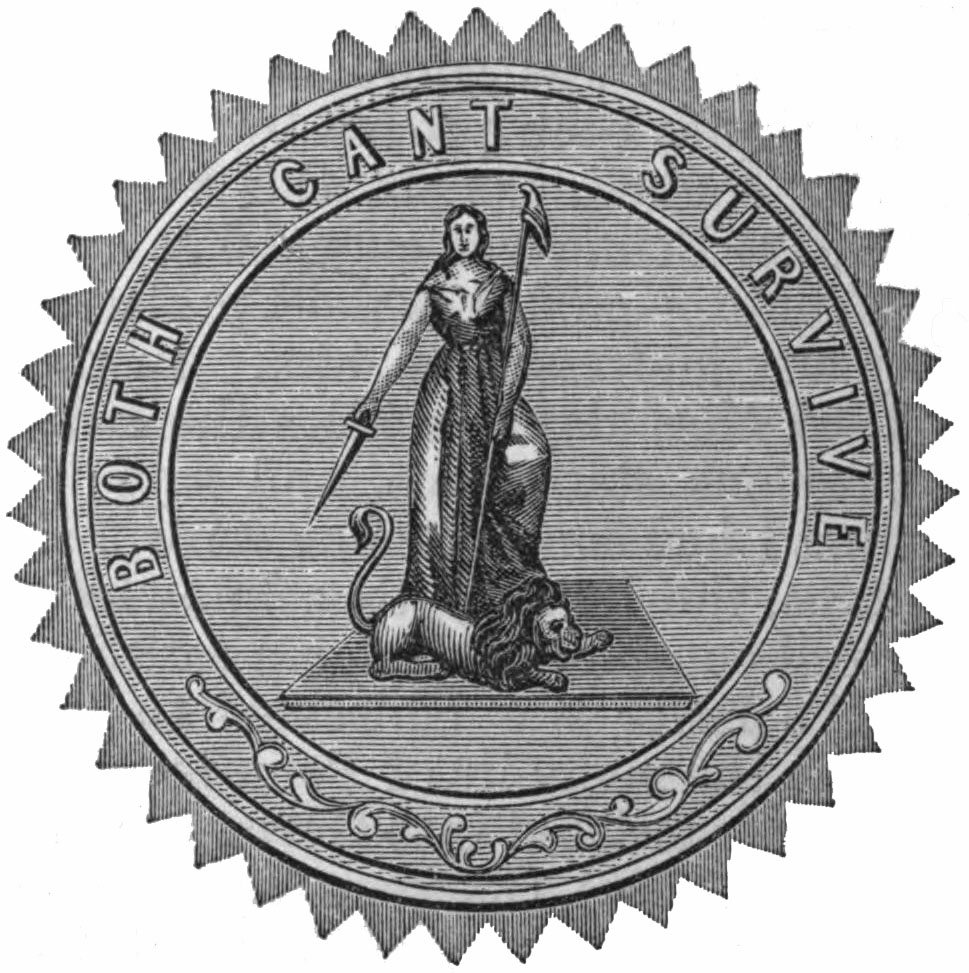 reverse side of the Great Seal of the Commonwealth of Pennsylvania